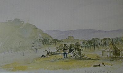 McLaren's Vale, Apr 24, 1840, E.C. Frome (AGSA)
