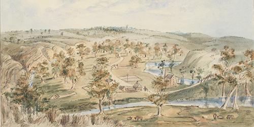 Noarlunga, 1850, Cawthorne, W. A. (SLNSW)_Malone