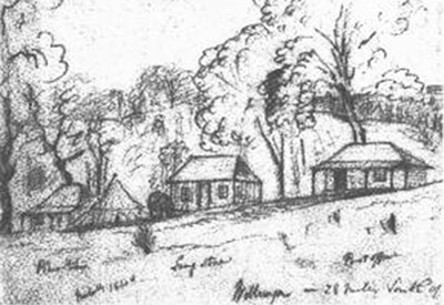 Willunga Government Reserve, 1840, E C Frome